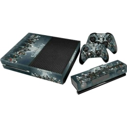 Elton Assassin's Creed Theme Skin Sticker Cover for Microsoft Xbox One Console/Kinect and Controllers (EL00096, Black)_1