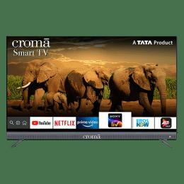Croma 139.7cm (55 Inch) 4K Ultra HD LED Smart TV (Dual Box Speakers, EL7347, Black)_1