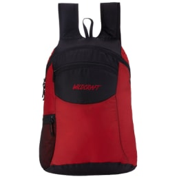 Wildcraft 24 Litres Travel Bag (Pac n Go Daypack 2, Red)_1