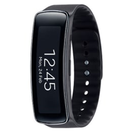 Samsung Gear Fit SM-R3500 Smartwatch (Black)_1