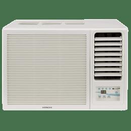 Hitachi Kaze Plus 1 Ton 3 Star Window AC (Copper Condenser, RAW312KWD, White)_1