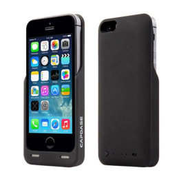 Capdase PowerArmor Battery Back Case Cover for Apple iPhone 5/5S (BPIH5-LT01, Black)_1