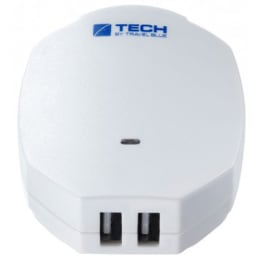 Travel Blue 2.1 Amp Dual USB Wall Charger (969, White)_1