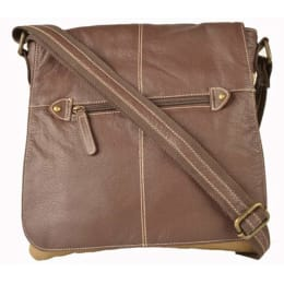 "Croma Unisex Sling Bag for 9"" Tablets (XL5180, Brown)_1"