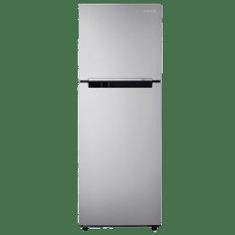 Samsung 253 L 2 Star Frost Free Double Door Inverter Refrigerator (RT28K3022SE/HL, Silver)_1