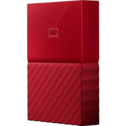 Western Digital My Passport 4TB USB 3.0 Portable Hard Disk Drive (WDBYFT0040BRD-WESN, Red)_1