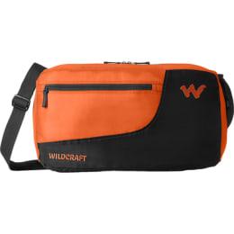 Wildcraft 24 Litres Travel Duffle Bag (Pac n Go Duffle 1 2, Orange)_1
