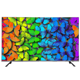 Hitachi 165 Cm (65 Inch) 4K Ultra HD LED Smart TV (LD65HTS08U, Black)_1