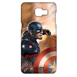 Macmerise Captain America Punch Polycarbonate Back Case Cover for Samsung Galaxy A7 (MACPIIPA7, Multicolor)_1