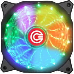 Circle USB Wired 15 LED 1800 RPM Gaming Fan (CG 16XC, Multicolor)_1