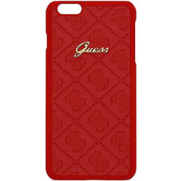 Guess Scarlett Carbon Fiber Hard Back Case Cover for Apple iPhone 6/6S (SW-238, Red)_1