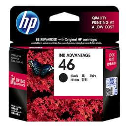 HP 46 Original Ink Advantage Cartridge (CZ637AA, Black)_1
