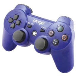 Trriger Wireless Controller Gamepad for Sony PS3 (Blue)_1