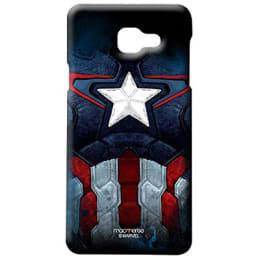 Macmerise Captain America Suit Polycarbonate Back Case Cover for Samsung Galaxy A7 (MACCSIPA7, Multicolor)_1