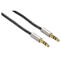 Hama 200 cm 3.5mm Alluminium Stereo Aux Connecting Cable (80869, Silver)_1