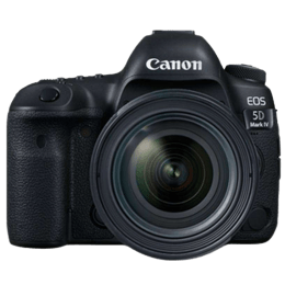 Canon 30.4 MP DSLR Camera Body with 24 - 70 mm Lens (EOS 5D Mark IV, Black)_1