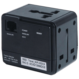 Merlin TravelMate USB Wall Charger (Black)_1