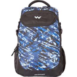 Wildcraft 35 Litres Travle Backpack (Camo 5 B, Blue)_1