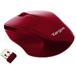 Targus 1600 DPI Wireless Optical Mouse (AMW571, Red)_1