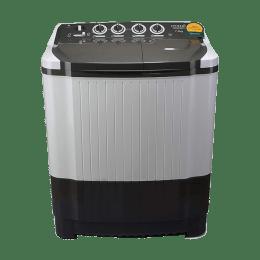 Croma 7.8 kg Semi Automatic Top Loading Washing Machine (CRAW2201, Grey)_1