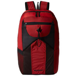 Wildcraft 24 Litres Casual Backpack (Pac n Go Summitpac, Red)_1