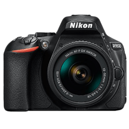 Nikon 24.2 MP DSLR Camera Body with 18 - 55 mm & 70 - 300 mm Lens (D5600, Black)_1