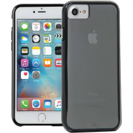 Case-Mate Naked Tough TPU Hard Back Case Cover for Apple iPhone 7/6S/6 (CM034672X, Smoke)_1