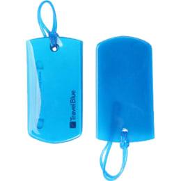 Travel Blue Jelly I.D. Luggage Tags (TB-016B, Blue)_1