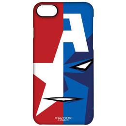 Macmerise Captain America Focus Polycarbonate Back Case Cover for Apple iPhone 7 (IPCI7PMM0092, Multicolor)_1