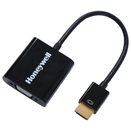 Honeywell HDMI (Type-A) to VGA Cable (HC000001/ADP/BLK, Black)_1