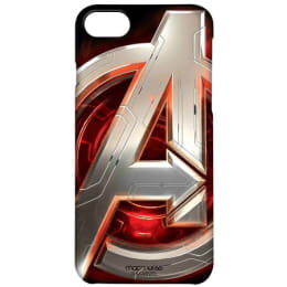 Macmerise Avengers Version 2 Polycarbonate Back Case Cover for Apple iPhone 7 (IPCI7PMM0032, Black)_1