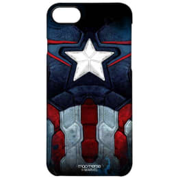 Macmerise Captain America Suit Polycarbonate Back Case Cover for Apple iPhone 7 (IPCI7PMM0044, Navy Blue)_1