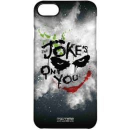 Macmerise The Jokes On You Polycarbonate Back Case Cover for Apple iPhone 7 (IPCI7PDK0236, Multicolor)_1