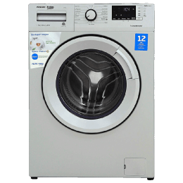Voltas Beko 7 kg Fully Automatic Front Loading Washing Machine (WFL70S, Silver)_1