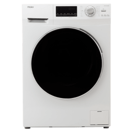 Haier 6 kg Fully Automatic Front Loading Washing Machine (HW60-10636NZP, White)_1