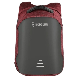 RNG Eko Green 30 Litres Travel Laptop Backpack (RNG 1913-RED, Red)_1