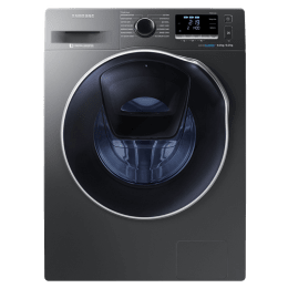 Samsung 9 kg/6 kg Fully Automatic Front Load Washer Dryer Combo (SpeedSpray, WD90K6410OX/TL, Inox Grey)_1