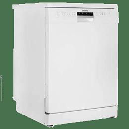 Siemens iQ500 12 Place Setting Freestanding Dishwasher (VarioFlex Rack, SN256W01GI, White)_1