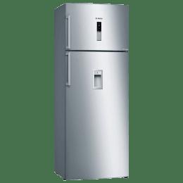 Bosch 401 L 2 Star Frost Free Double Door Inverter Refrigerator (KDD46XI30I, Inox)_1