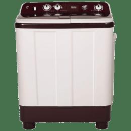 Haier 9 kg Semi Automatic Top Loading Washing Machine (HTW90-1128BT, Burgundy)_1