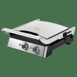 Havells Toastino 4 Slice 2000 W Sandwich Maker (GHCSTBLS200, Silver)_1