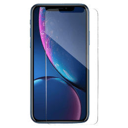 Catz Tempered Glass Screen Protector for Apple iPhone XR (CZ-IPXR6.1-TG0, Transparent)_1