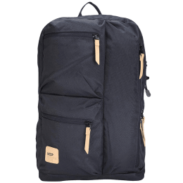 VIP Trot 01 19 Litres Polyester Casual Backpack (3 Front Pockets, BPTRO01BLU, Blue)_1