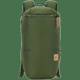 VIP Wander 01 19 Litres Polyester Casual Backpack (3 Pockets, BPWAN01GRN, Green)_1