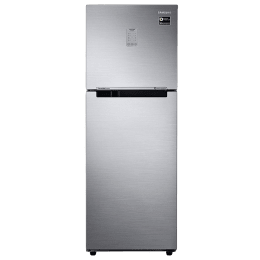 Samsung 253 L 2 Star Frost Free Double Door Inverter Refrigerator (RT28N3722SL/HL, Real Stainless)_1