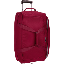 Skybags Cardiff 39 Litres Polyester Duffel Trolley Bag (Butterfly Lock, DFTCA52ERED, Red)_1