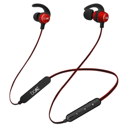 Boat Rockerz255R In-Ear Wireless Earphones with Mic (Bluetooth 4.1, Red)_1