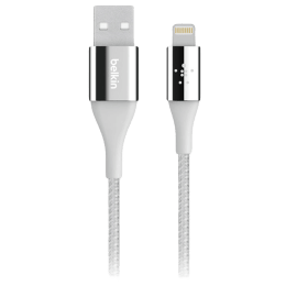 Belkin Mixit DuraTek Kevlar 30 cm USB 2.0 (Type-A) to Lightning Cable (F8J207bt04, Silver)_1