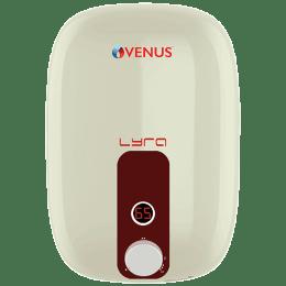 Venus Lyra Smart 25 Litres 5 Star Storage Water Geyser (2000 Watts, 25RX, Ivory/Wine Red)_1