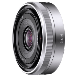 Sony E 16 mm F2.8 Lens (SEL16F28, Silver)_1
